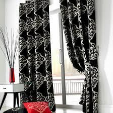 black and white velvet curtains home design ideas