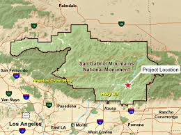 San Gabriel Map The East Fork Project New Plans For Popular San Gabriel River