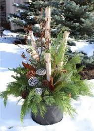 Christmas Garden Decorations by How To Make Your Own Outdoor Holiday Planter Planters Holidays