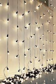 wall christmas light show inspiring wall string lights that will steal the show