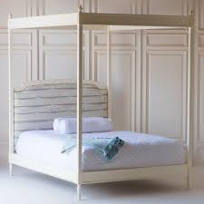 Upholstered Canopy Bed Penelope Upholstered Canopy Bed By The Beautiful Bed Company