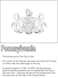 Usa Coloring Pages Pennsylvania Coloring Pages United States State Symbols For Pa by Usa Coloring Pages