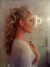 hair with poof on top top front poof prom hair google search prom prep pinterest