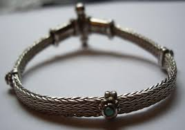 silver antique bracelet images Middle eastern JPG