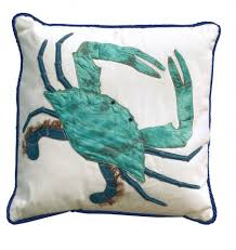 decorating ideas contemporary blue crab wall paint decoration as
