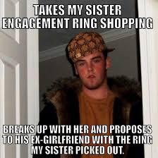 Meme Ex Boyfriend - my sisters ex boyfriend of a year and a half meme guy