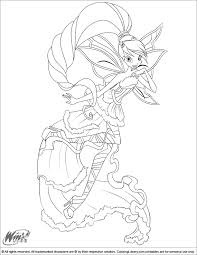 winx club coloring pages getcoloringpages