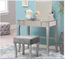 silver vanities and makeup tables ebay