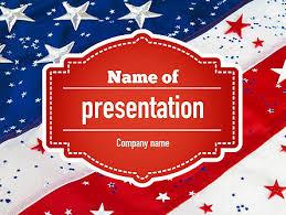 http www pptstar com powerpoint template festive american flag