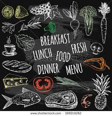 juice menu placemat drink restaurant brochure stock vector