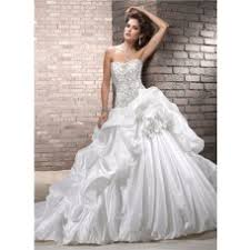 poofy wedding dresses gown sweetheart ivory taffeta draped wedding dress with lace
