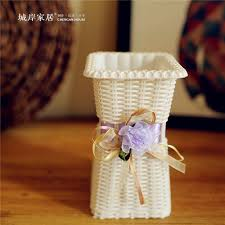 Cheap Plastic Flower Vases High Grade Simulation Flower Plastic Flower Vase Decorative Home