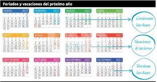 calendario escolar argentina 2017 2018 así quedó el calendario 2017 con un sólo feriado puente habrá