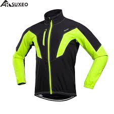 windproof cycling jackets mens arsuxeo 2018 cycling jacket winter thermal warm up fleece mtb bike