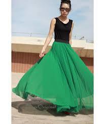 Kelly Green Maxi Dress Floor Length Emerald Green Maxi Skirt Flms1102