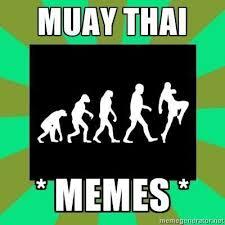 Muay Thai Memes - muay thai memes muaythaimemes twitter