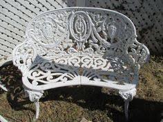 Cast Iron Loveseat Greystone Fine Furniture Cast Iron Victorian Garden Chair 125