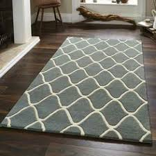 Modern Rug Uk Idesign 128 Brown Orange Rugs Buy At Modern Rugs