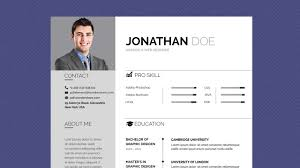 free professional resume template business basic lite youtube