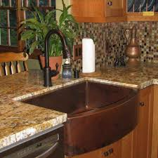 copper apron front sink copper farmhouse sink hammered apron the kienandsweet furnitures