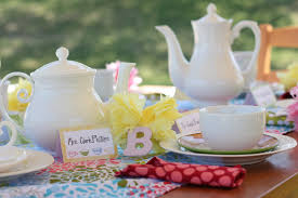tea party tables tea party themed bridal shower essentials and ideas everafterguide