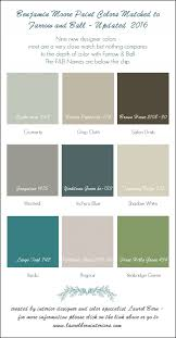 Color For 2016 9 New Farrow U0026 Ball Colors 2016 Matched To Benjamin Moore