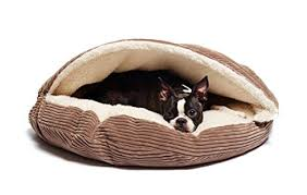 precious tails coffee brown corduroy round cave hamburger pet bed