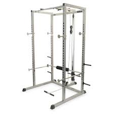 valor bd 7 power rack with lat pull attachment