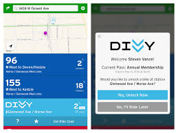 Chicago Divvy Bike Map by Popular U201ctransit U201d App Now Enables Bypassing The Divvy Kiosk