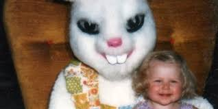 terrifying vintage easter bunny photos that will give you