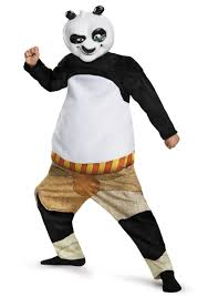 kung fu panda po deluxe muscle costume
