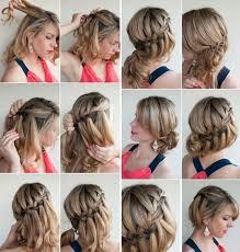 Hochsteckfrisurenen Mit Kurzen Haaren Selber Machen by Hochsteckfrisuren Selber Machen 58 Anleitungen Für Effektvolle