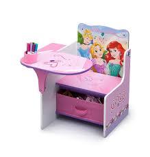 desk chair with storage bin disney princess chair desk added storage bin tyfinder