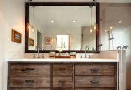 Rustic Bathroom Lighting - rustic modern bathroomgorgeous rustic modern sink in bathroom