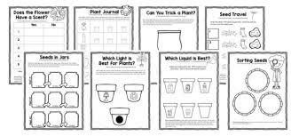 new spring activities theme pack for preschool and kindergarten