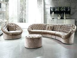 round sectional couch round sectional sofa bed white leather circular sectional round