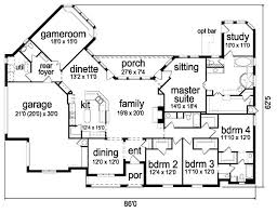 Architectural Plans For Houses by 49 Best Santa Fe House Plans Images On Pinterest Santa Fe Floor