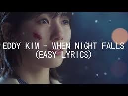 download mp3 eddy kim when night falls when night falls eddy kim ost while you were sleeping re write