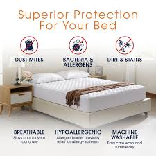 Bed Protector Mattress Covers Bed Protectors And Toppers Cheer Collection