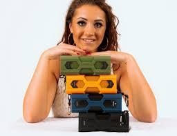 Rugged Boombox Sound Monkey Audio Rugged Bluetooth Speaker Gadget Flow
