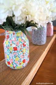 Mason Jar Vases Spring Mason Jar Vases Dwelling In Happiness
