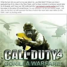 Gorilla Warfare Meme - dank lord dank meme lord instagram photos and videos