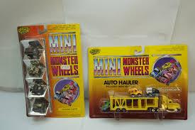 mini monster jam truck toys vintage diecast cars trucks road champs mini monster wheels lot 2