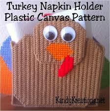 turkey napkin holder plastic canvas pattern everyday