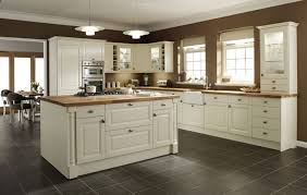 kitchen floor tile ideas with oak cabinets chromed stainless arch