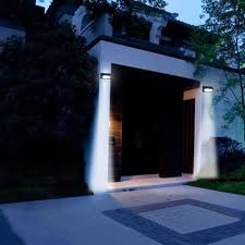solar powered exterior wall lights wall light astonishing solar powered exterior wall lights as well