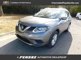 used nissan rogue 2016 used nissan rogue fwd 4dr sv at honda of fayetteville serving