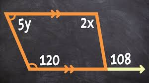 finding the value of x using a trapezoid alternate interior angles