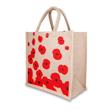 poppy shop uk fabric charity bags and jute bags