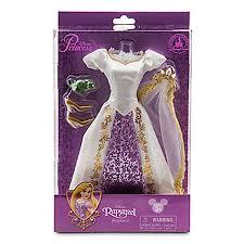 walt disney parks exclusive tangled princess rapunzel doll costume